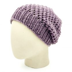 Netted Beanie - Purple Haze