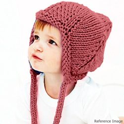 Pixie Gnome Cap with Earflaps - Pink