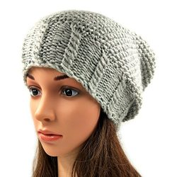 Slouch Beanie - Light Grey