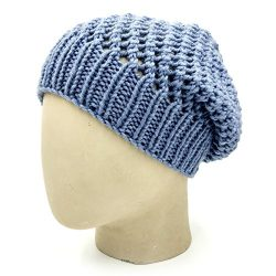 Netted Beanie - Faded Denim