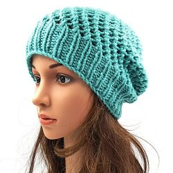 Netted Beanie - Sea Green