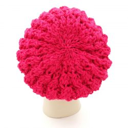 Slouchy Shroom Beanie Coral Red