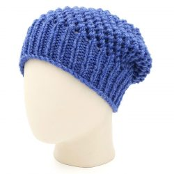 Netted Beanie - Denim Blue