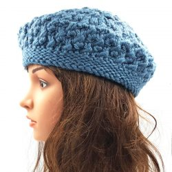 Berry Slouchy Beanie - Storm Blue
