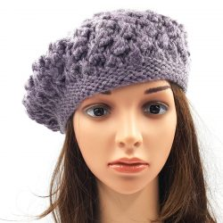 Berry Slouchy Beanie - Purple Haze