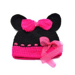 Minnie Mouse Character Baby Cap