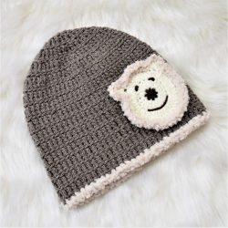 Lion Applique Cap - Brown