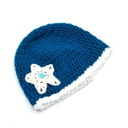Star Applique Cap - Blue