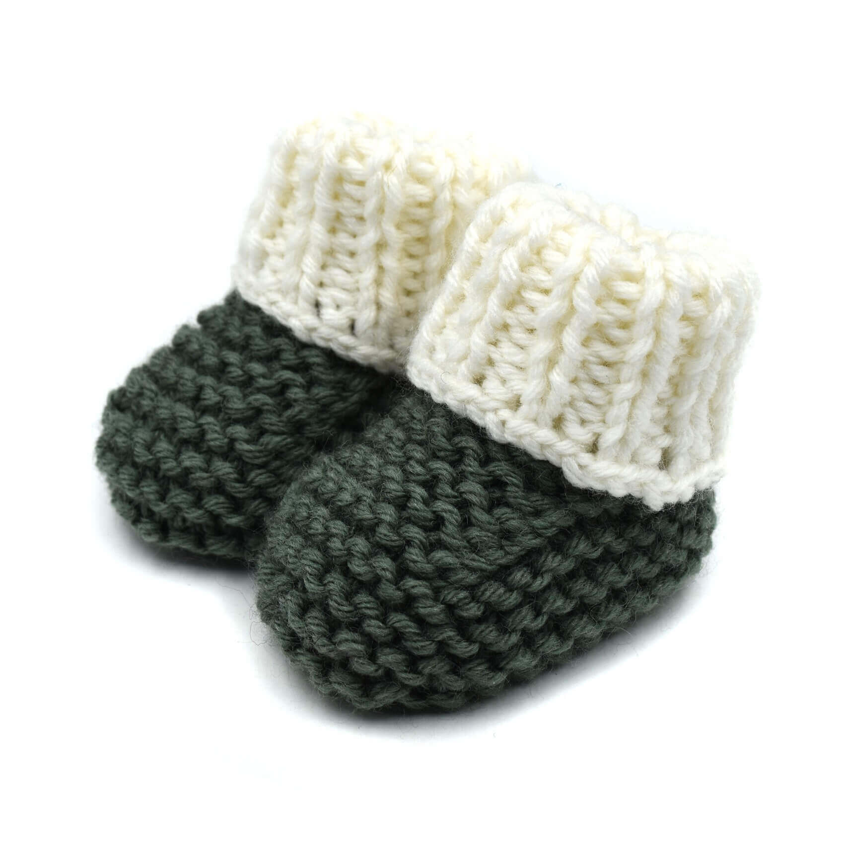 f39ef72f1e0 Baby Booties - Green