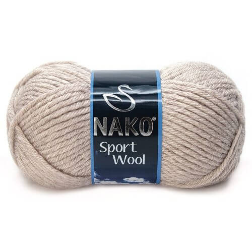 Nako Yarn Sport Wool 2167