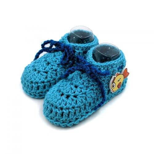Baby Ankle Boots - Blue