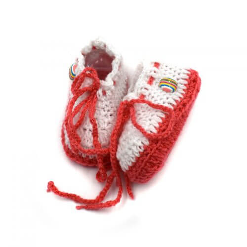 2 Pairs of Baby Shoes - Yellow | White
