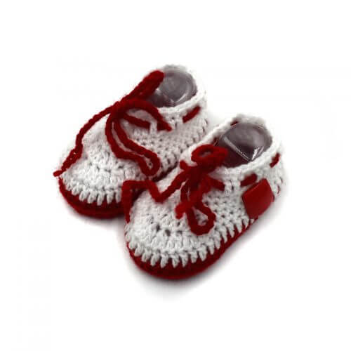 2 Pairs of Baby Shoes - Orange | Red