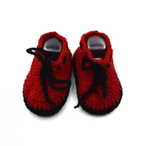 2 Pairs of Baby Shoes - Grey | Red