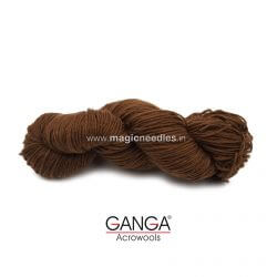 Ganga Cuddly 3 ply Acrylic Yarn - Brown