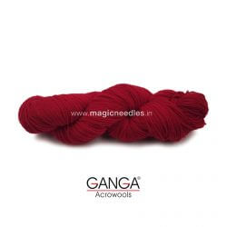 Ganga Cuddly 4 ply Acrylic Yarn - Red 77