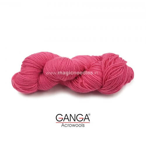 Ganga Cuddly 4 ply Acrylic Yarn 100 gm - Dark Pink 11