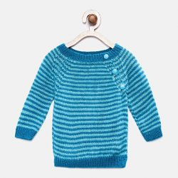 Full Sleeves Sweater - Blue
