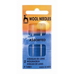 Pony Wool Needle Aluminium 16801
