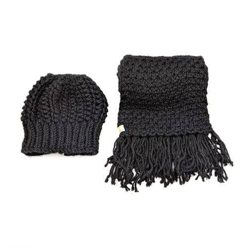 Scarf and Beanie Set