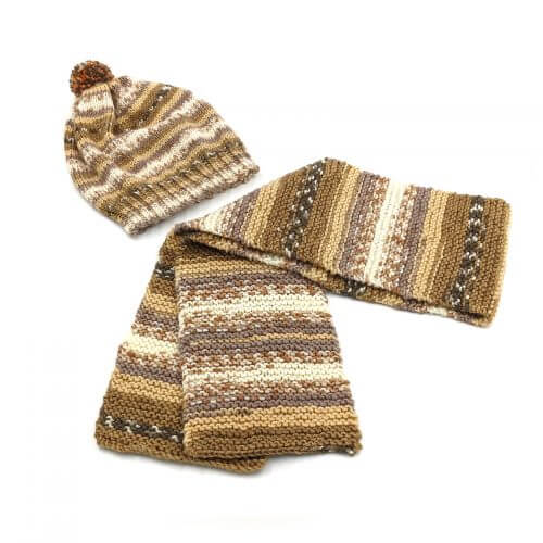 Scarf and Cap Set