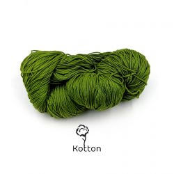 3-Olive-green-Cotton-Yarn-4-ply