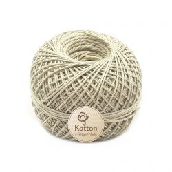 Kotton 4 ply Cotton Yarn Ball - Fawn 14