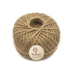 Kotton 4 ply Cotton Yarn Ball – Khaki 07