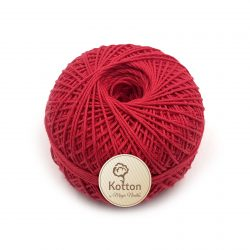 Kotton 4 ply Cotton Yarn – Red 10