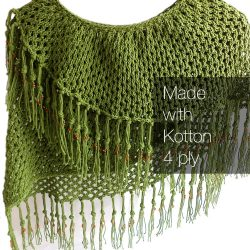 Kotton 4 ply - Olive Green