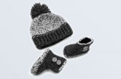 Cap & Booties Set