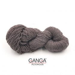 Ganga Cuddly 4 ply Acrylic Yarn - Brown Grey 89