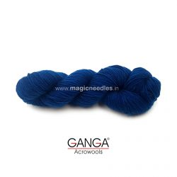 Ganga Cuddly 4 ply Acrylic Yarn - Navy Blue 120