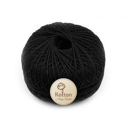 Kotton 4 ply Cotton Yarn – Black 17