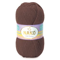 Nako Elit Baby Yarn - Dark Brown 4367