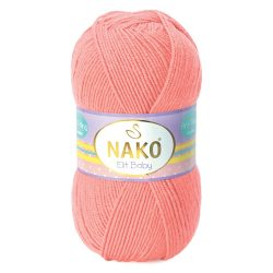 Nako Elit Baby Yarn - Light Coral 11452