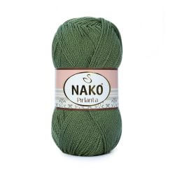 Nako Pirlanta Yarn - Military Green 11253