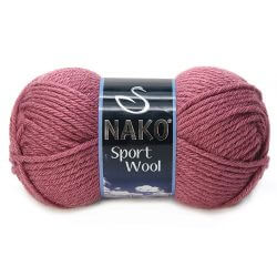 Nako Sport Wool Dried Rose 327