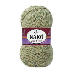 Nako Vega Tweed Green 31759