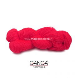 Ganga Cuddly 4 ply Acrylic Yarn – Coral Red