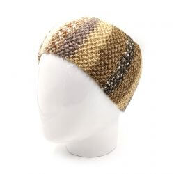 Men's Striped Headband - Multi Beige