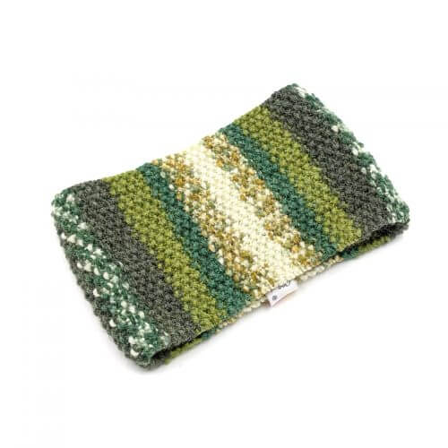Striped Headband - Multi Light Green