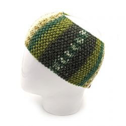 Men's Striped Headband - Multi Light Green