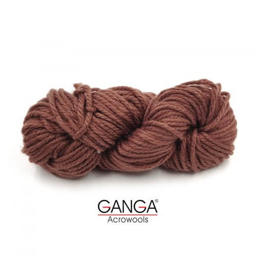 Ganga Motu Thick Chunky Yarn - Brown 02