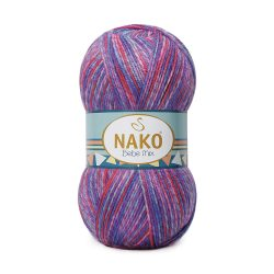 Nako Bebe Mix Yarn - Multi Color 86829