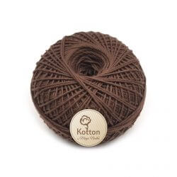 Kotton 4 ply Cotton Yarn - Mud Brown 39