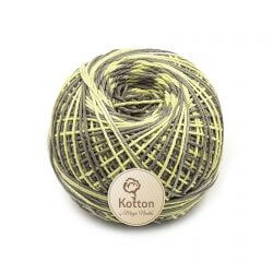 Kotton 4 ply Cotton Yarn Ball - Multi Color 10