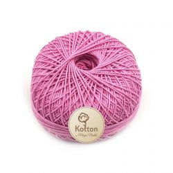 Kotton 4 ply Cotton Yarn Ball - Onion Pink 40