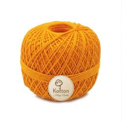 Kotton 4 ply Cotton Yarn - Orange 32