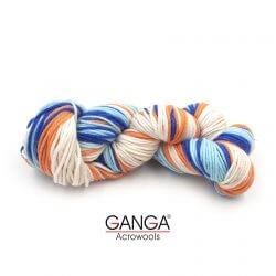 Ganga Alisha 4 ply Acrylic Yarn - Multi Color 815204